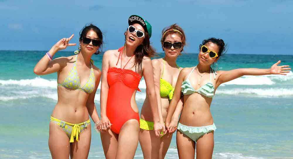 Boracay Beach girls