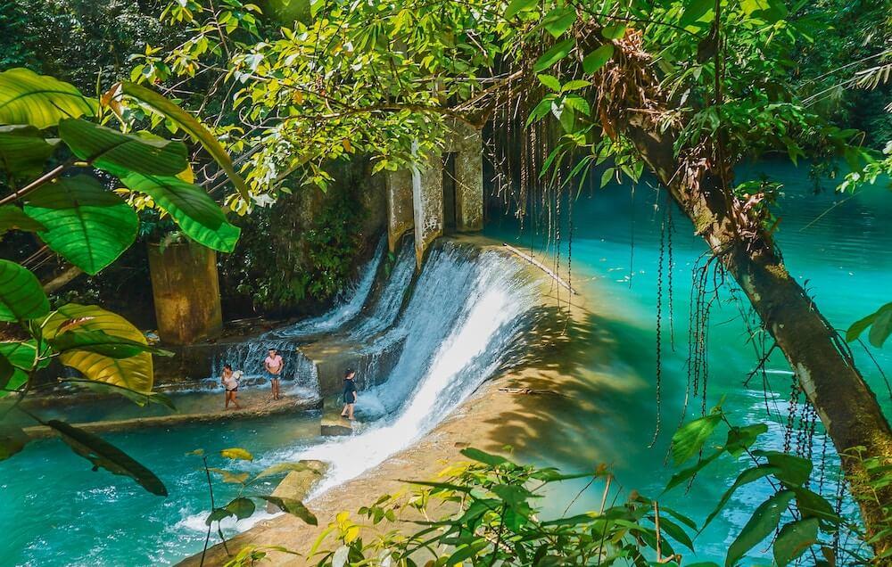 Cebu waterfall Philippines