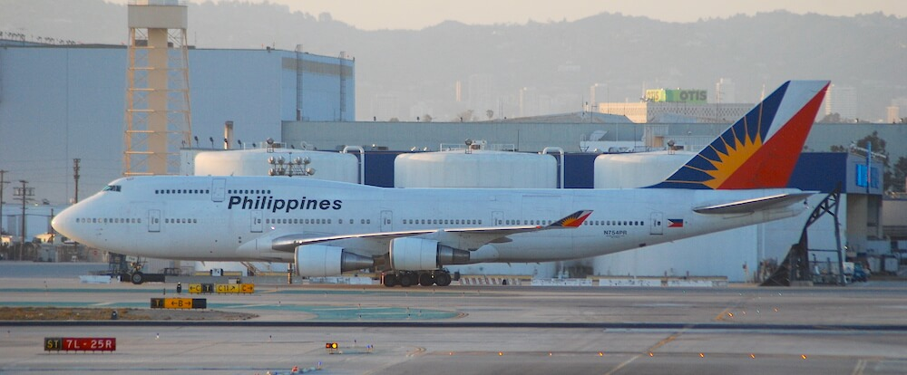 Philippine Airlines at Los Angeles Airport
